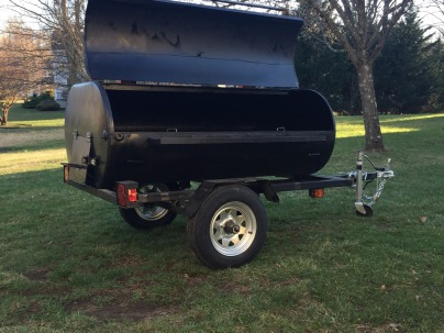 Our Grills can accommodate up to 200lbs of meat to include a pig that has been butterflied open